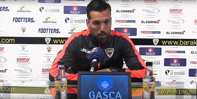 Hernán Pérez no continúa en el Barakaldo CF
