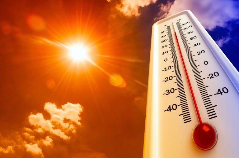 Aviso amarillo por altas temperaturas