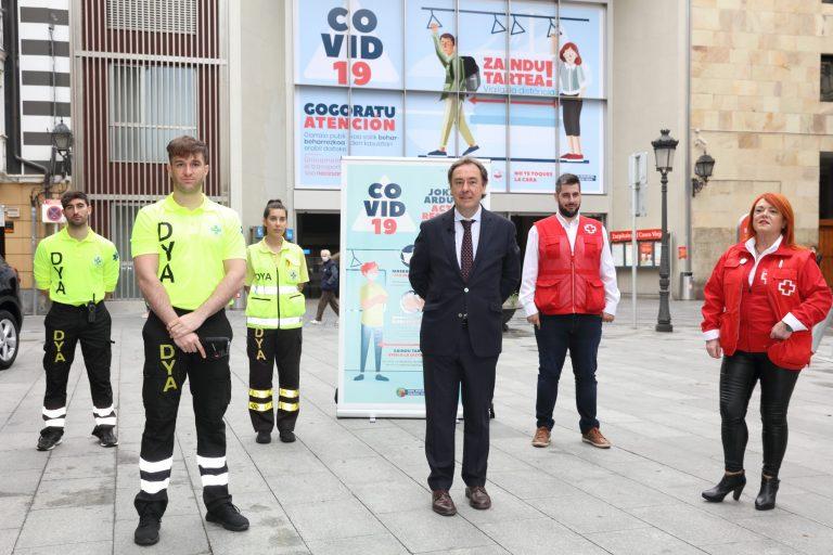 Euskadiko garraio publikoa normaltasunera daraman bidea egiteko prestatzen ari da