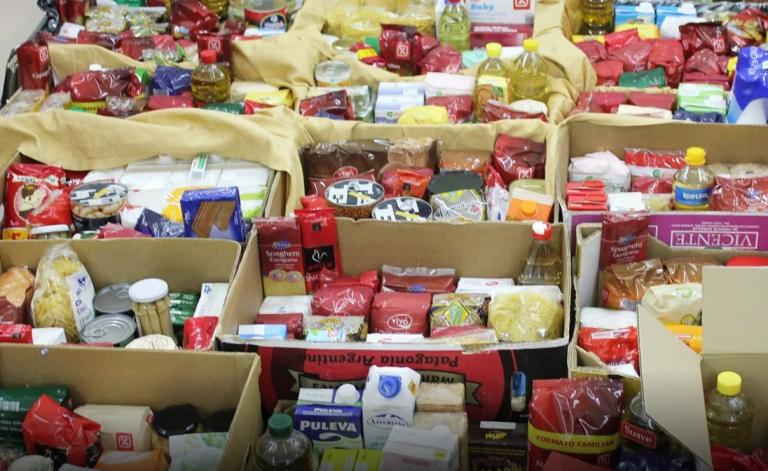 Las solicitudes de ayuda al Banco de Alimentos de Gipuzkoa crecen un 35%