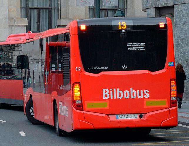Bilbobusek 5 gehitu du zerbitzu erabiltzaileen kopurua