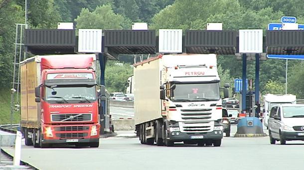 El TSJPV anula por segunda vez los peajes para camiones en Gipuzkoa