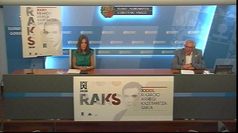 La 32 edición del Premio Rikardo Arregi de Periodismo homenajeará a Xabier Lete