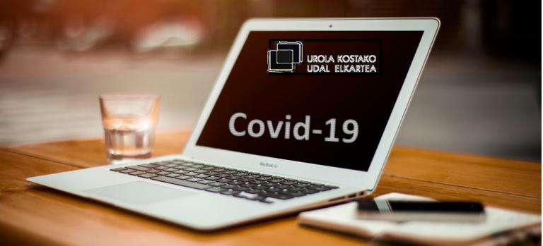 Covid-19: segurtasunari buruzko ON-LINE saioak Urola Kostan