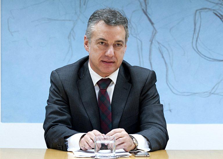Urkulluk Espainiako gobernuko presidenteari Akitania Berria-Euskadi-Nafarroa Euroeskualdean mugaz gaindiko mugikortasuna zabaltzeko eskatu dio