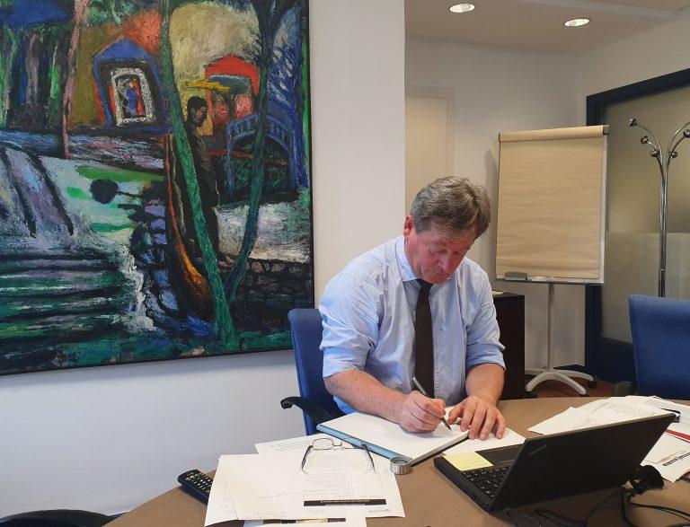 El consejero de Cultura y Política Lingüística del Gobierno Vasco, Bingen Zupiria, ha presidido esta tarde la reunión del Consejo Vasco de la Cultura