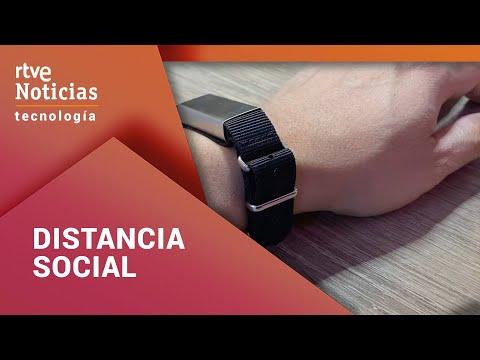 Tecnología: Pulseras distancia social