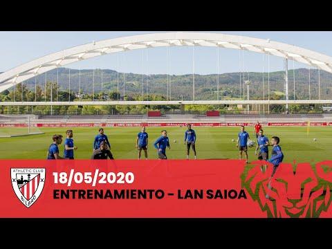 Entrenamiento Athletic Club I Entrenamendua (18-05-2020)