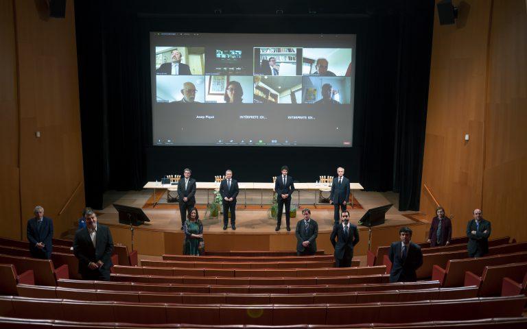 El Lehendakari ha presidido la reunión del Patronato del Museo Guggenheim
