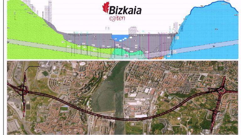 La Diputación de Bizkaia adjudica el proyecto de construcción del túnel bajo la ría