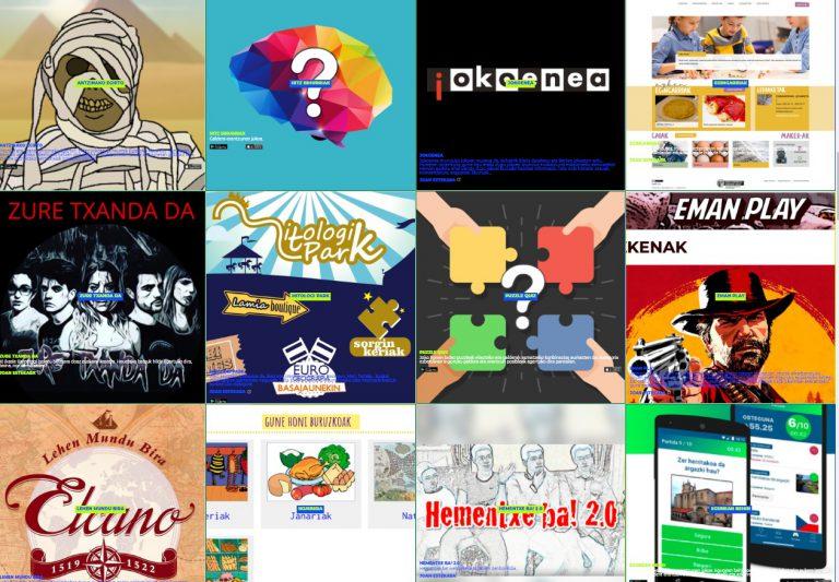 El Gobierno Vasco recopila un centenar de contenidos y recursos digitales en el portal Gozatu Sarean Euskaraz