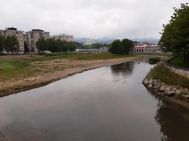 URA ha concluido los trabajos para la recuperación ambiental de la regata de Iñurritza de Zarautz