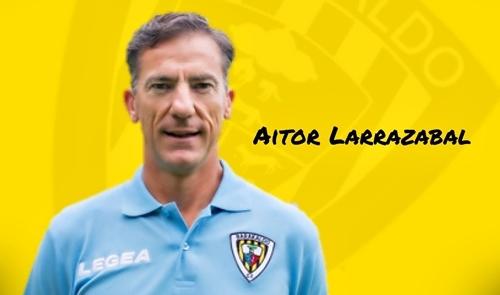 Aitor Larrazabal, nuevo entrenador del Barakaldo CF