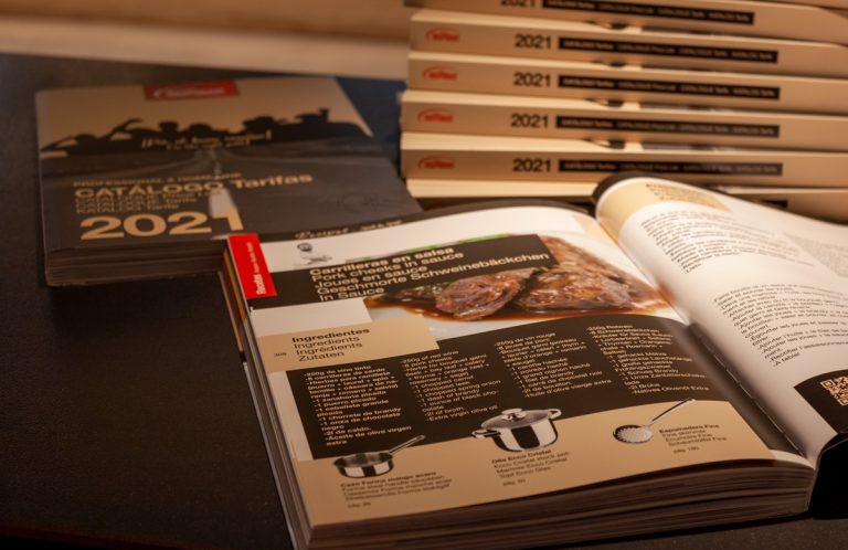 Inoxibar publica su nuevo catálogo de menaje de cocina